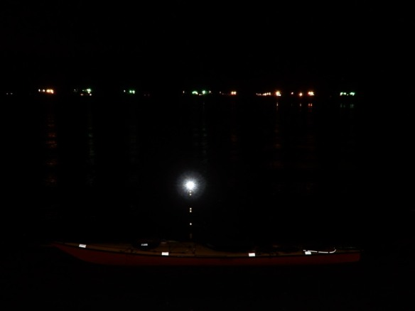 night light on the water