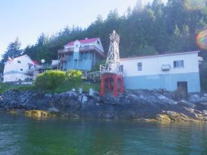 Boat Bluff Lighthouse, Sarah Island, British Columbia
