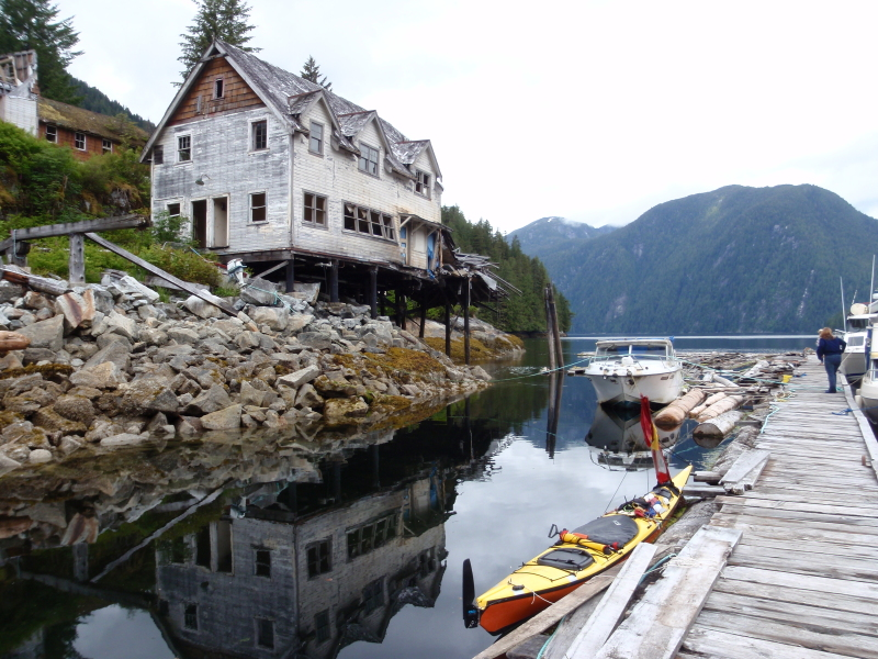 Butedale, Princess Royal Island, British Columbia